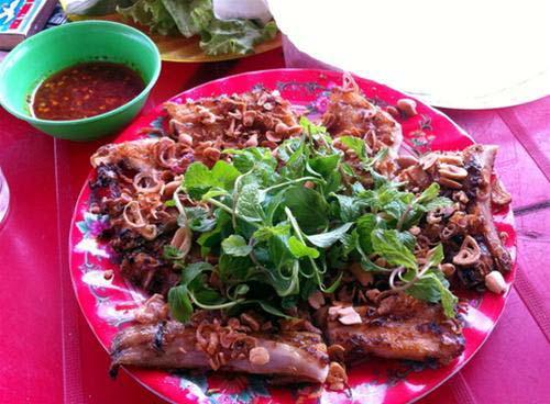 Cá đuối nướng Đồng Dương