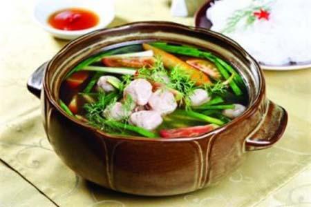 Cá nục nấu canh chua Quảng Binh