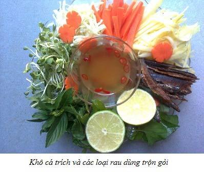 Gỏi khô trích Bình Thuận