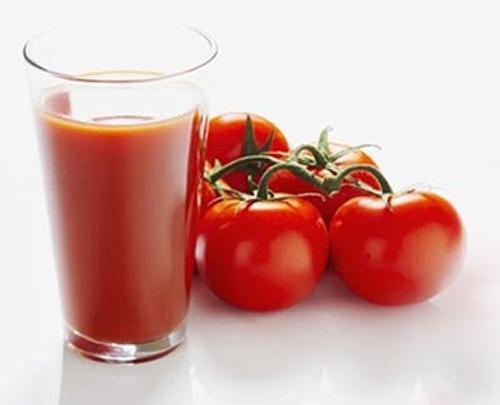 Nước ép cà chua tốt nhất cho sức khỏe