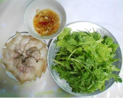 Thịt heo ngâm nước mắm Quảng Nam
