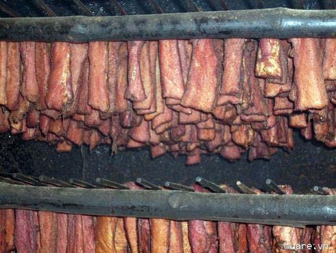 Thịt trâu khô Sơn La