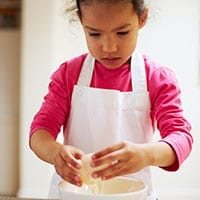 A guide to cookery skills by age
