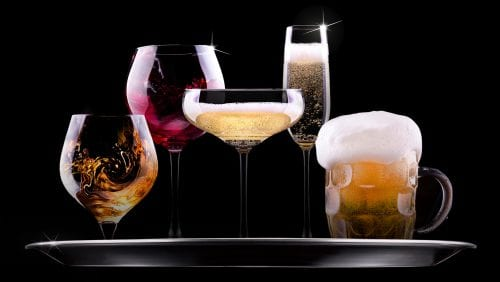 Ask the experts: Drinking with meals