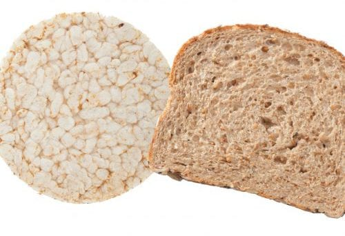 Everyday choices: Rice cakes or toast? 8