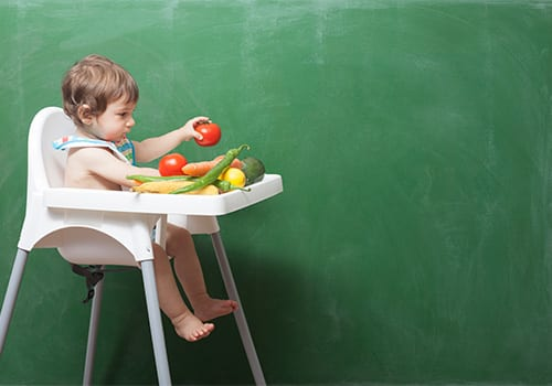 Healthy eating: What young children need