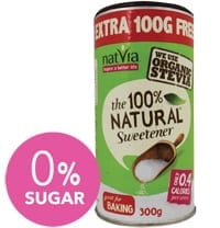 How much sugar is in that sweetener?