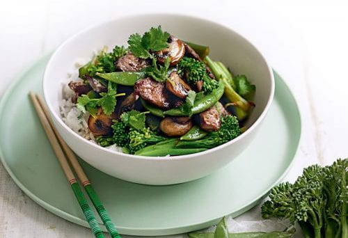 How to stir-fry meat 1