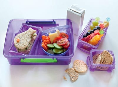 Ideal school lunches for every age