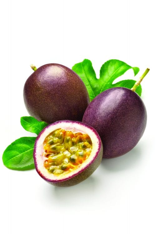 In season early winter: Passionfruit