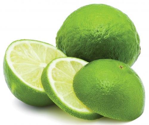 In season late winter: Limes