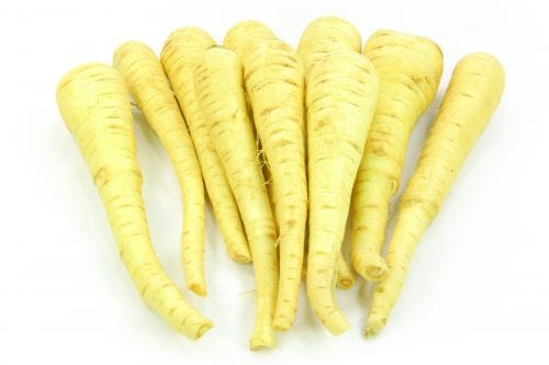 In season late winter: Parsnips