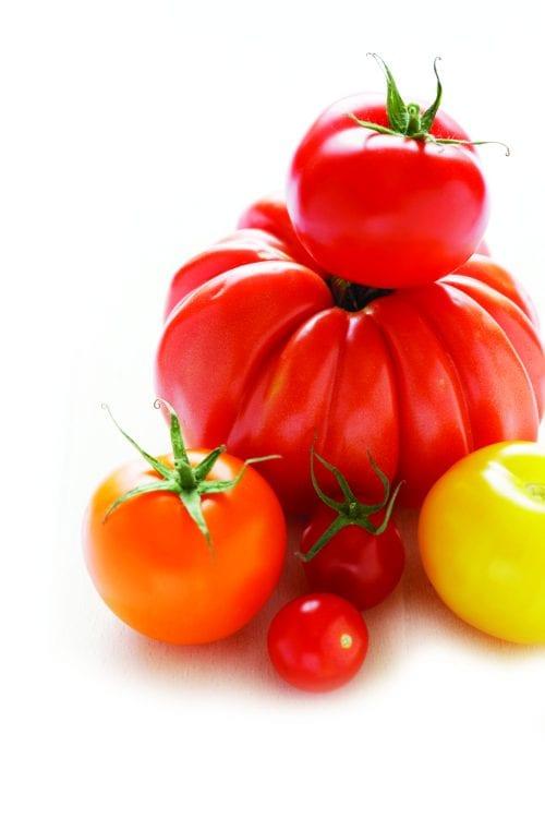 In season mid-summer: Tomatoes
