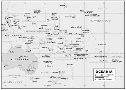 Islands of the Pacific