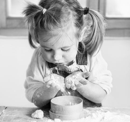 Kids in the kitchen: Mother's Day