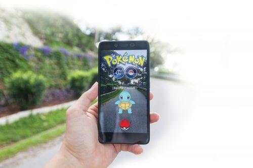 Pokemon going, going…