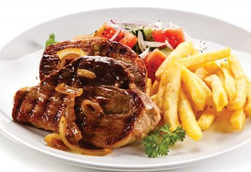 Portion distortion: Steak 8