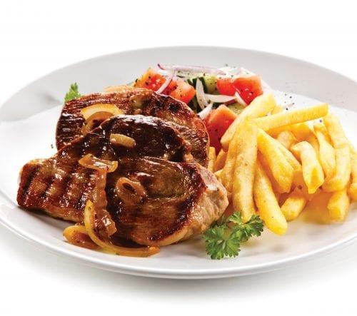 Portion distortion: Steak