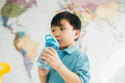 Water-only a boon for school kids' teeth