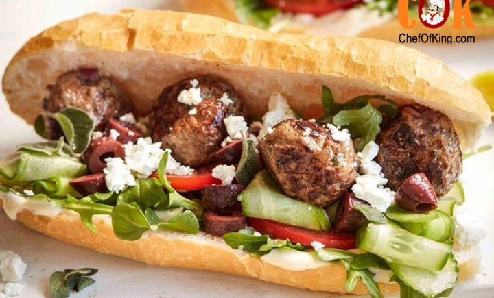 Greek Style Meatball Sandwich Chef Of King,Gas Grills Parts
