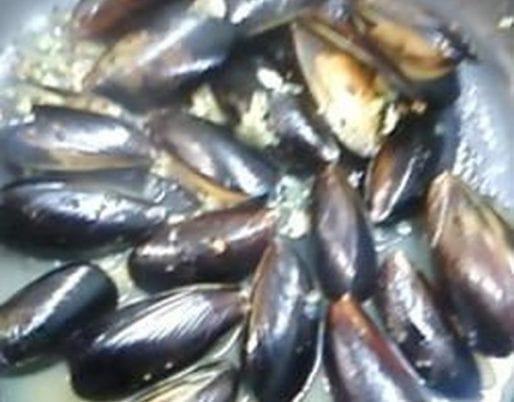 Steamed Mussels with Curry