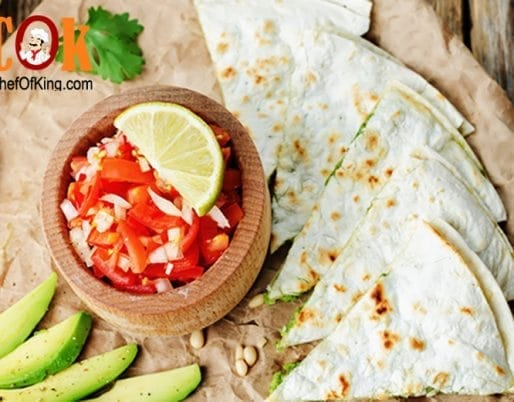 Avocado Quesadilla Snack Recipe * Cannabis ⋆ Chef Of King: