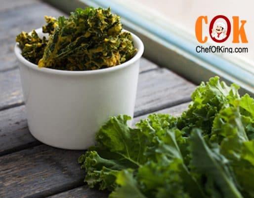 Baked Kale Chips Recipe