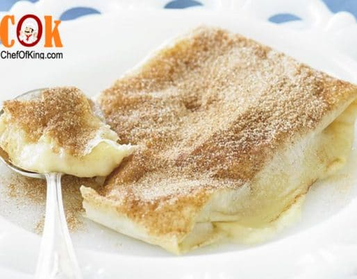 Bougatsa (custard parcels) recipe