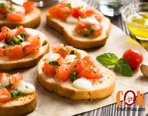 Bruschetta Snack Recipe