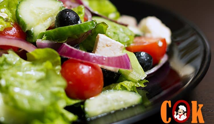GREEK SALAD Recipe