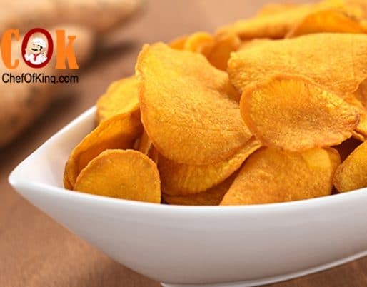 Sweet Potato Chips recipe - Cannabis Recipes