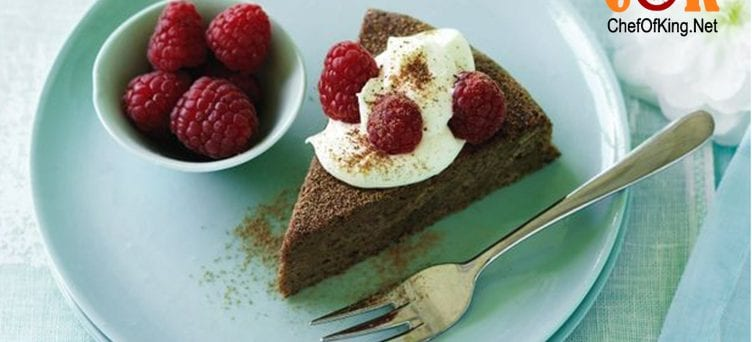 Guilt-free chocolate fudge cake recipe