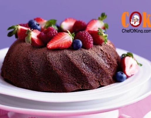 Light chocolate cake Recipe