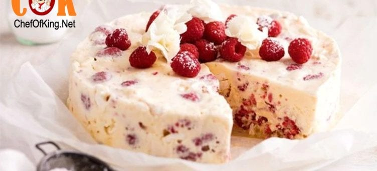 Low-fat berry and meringue ice-cream cake 1