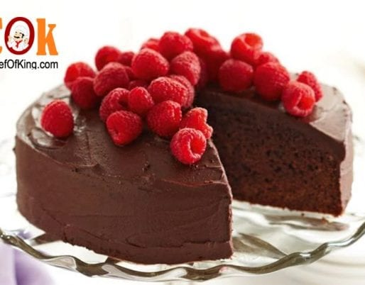Reduced-fat chocolate cake recipe