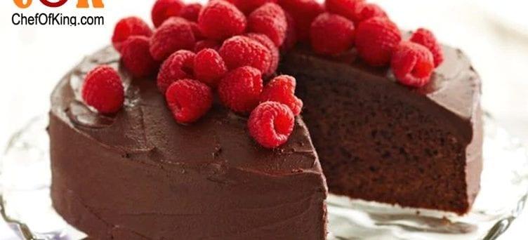 Reduced-fat chocolate cake recipe