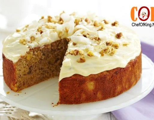 Reduced-fat hummingbird cake recipe