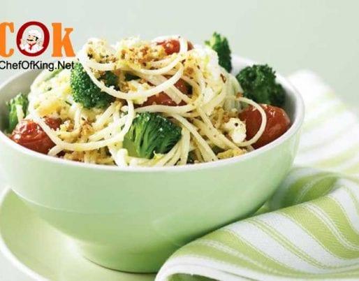 broccoli-ricotta-roasted-tomato-linguine