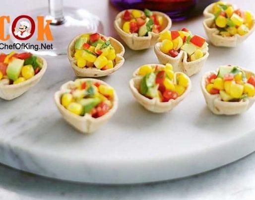 mini-tortilla-cups-corn-salsa
