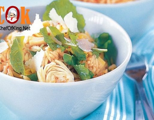 risoni-salad-artichokes-rocket-pine-nuts