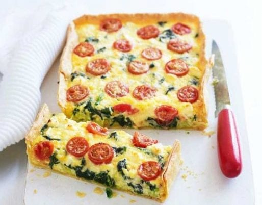 spinach-feta-tomato-slice
