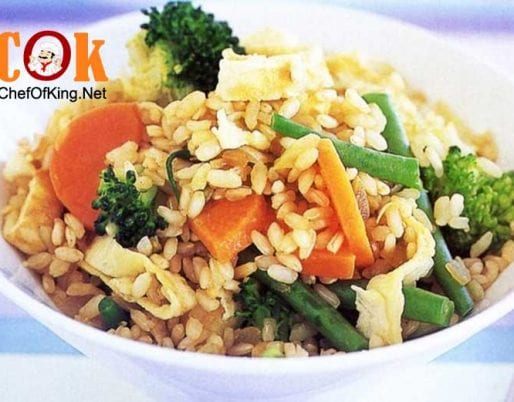 vegetarian-fried-brown-rice
