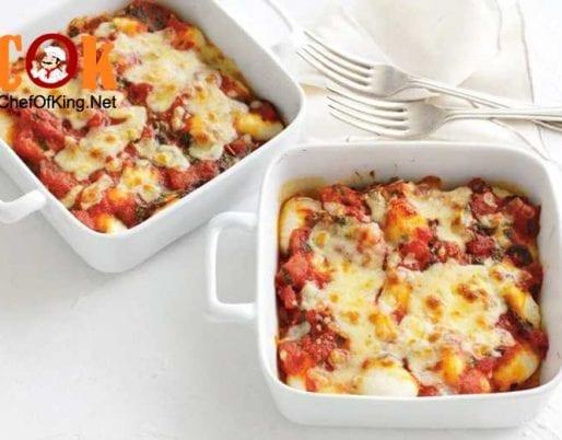 gnocchi-spicy-tomato-sauce-mozzarella