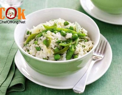 mixed-pea-mint-microwave-risotto