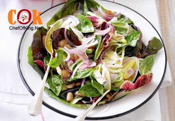 radicchio-fennel-borlotti-bean-salad