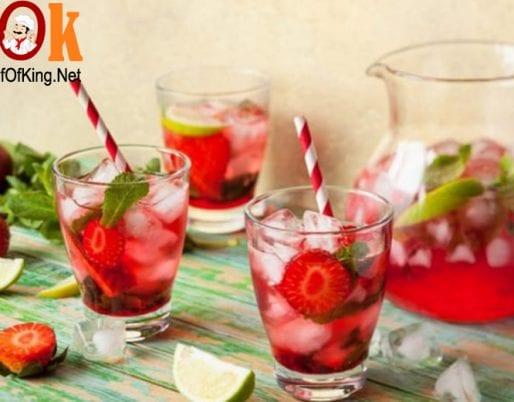 Cocktail dâu tây 2