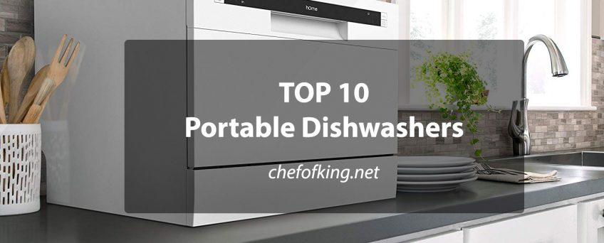 Top 10 Best Portable Dishwashers ⋆ Chef Of King