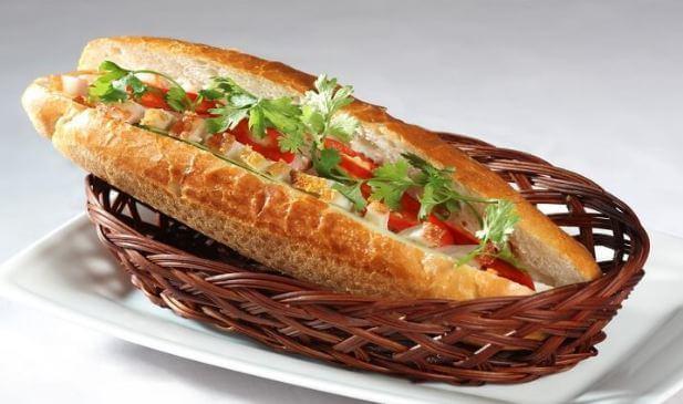 bánh mì nổi tiếng nhất Đà Nẵng