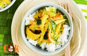 Mango & tomato curry recipe