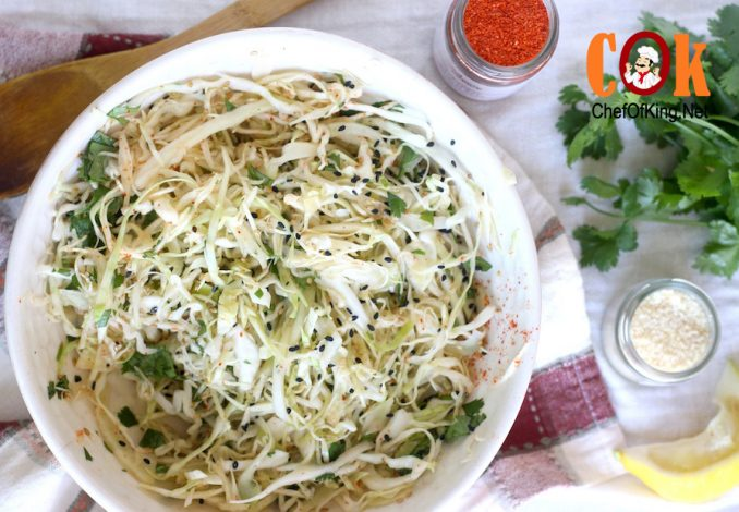 Asian-style Cabbage-Fennel Coleslaw